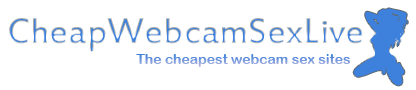 Cheap webcam sex sites (0.40$) by genre, payment options and platform logo